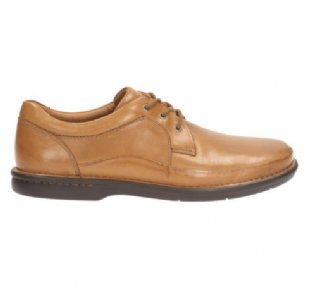 Clarks Mens Butleigh Edge Tan Leather Shoes